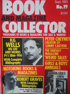 BOOK & MAGAZINE COLLECTOR  No 19 SEPTEMBER 1985