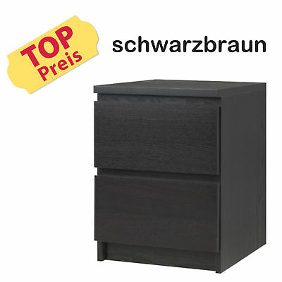 ikea malm kommode mit 2 schubladen wei m bel kleider schrank neu eur 54 28 picclick de. Black Bedroom Furniture Sets. Home Design Ideas