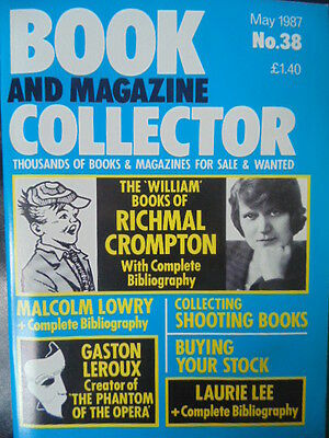 BOOK & MAGAZINE COLLECTOR  No 38 MAY 1987