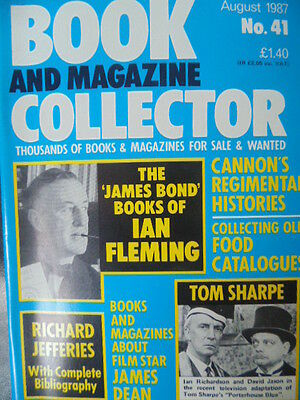 BOOK & MAGAZINE COLLECTOR  No 41 AUGUST 1987