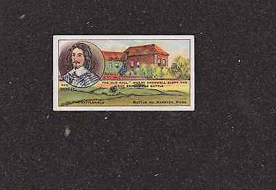 1913 CARD No 38 F & J SMITH BATTLEFIELDS OF GREAT BRITAIN CIGARETTE CARD EXC