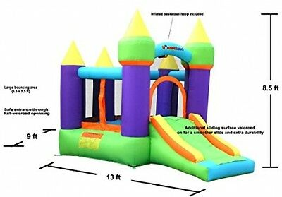 Bouncy Castle Inflatable House Bounce Jumping Kids Jump Party Air
