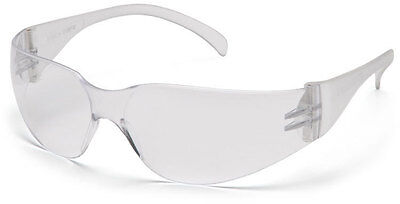 144 PAIR 1700 SERIES CLEAR LENS SAFETY GLASSES (Scratch-resistant Lens)