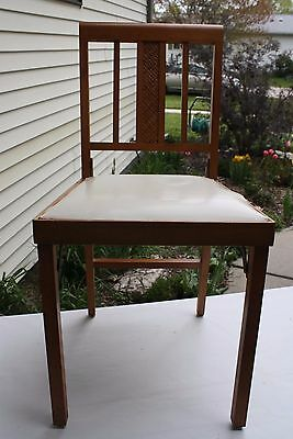 Tiny house furniture, Leg O'Matic folding chair, airstream mid 40's - 60's #7