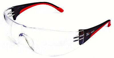6 Pair 1700 2.5 Bifocal Reader Clear Safety Glasses