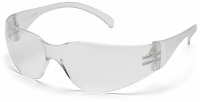 6 Pair 1700 Series Clear Lens Safety Glasses
