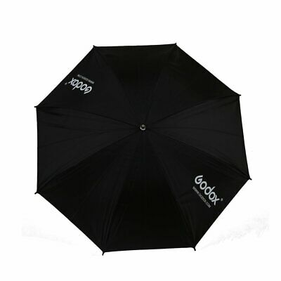 "Godox 33"" 84cm Photography Studio Black & Silver Reflective Umbrella Brolly"