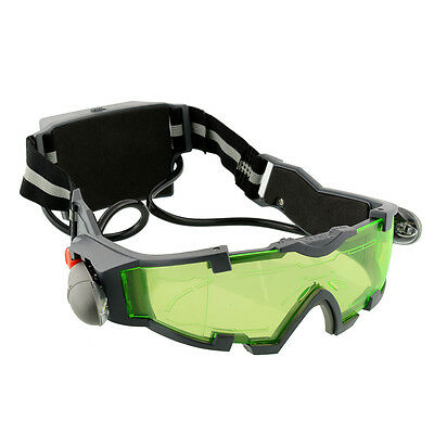 Adjustable Elastic Band Night Vision Goggles eye protector Glasses Protection