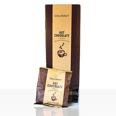Callebaut Hot Chocolate Callets Dark Schokolade 25 x 35g