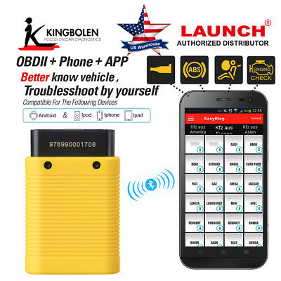 Launch X431 EasyDiag 2.0 / PLUS For Android/IOS OBDII Code Diagnostic Scanner
