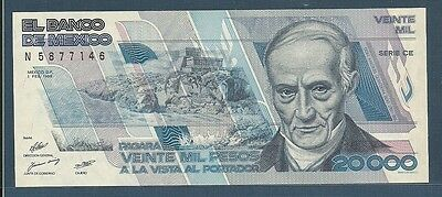 Banknotes Of All Nations Mexico 1978 50 Pesos Unc P 65c Birthday 1988 North & Central America Mexico