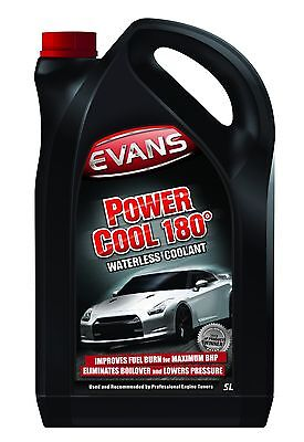 EVANS WATERLESS POWER COOLANT 180 - 5 Litre Vauxhall Red Top