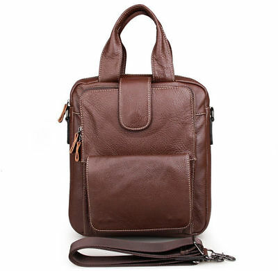 0eb19328fca6 J.M.D Mens Real Leather Handbag Small Sling Notebook Bag Messenger Shoulder  Bag