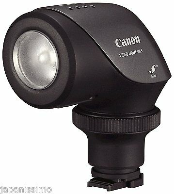 Canon: On-Camera 5 Watt Video Light Japan import F/S Mew [VL-5]