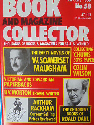 BOOK & MAGAZINE COLLECTOR  No 58 JANUARY 1989