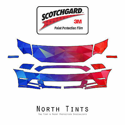 Ford Mustang 2013-2014 PreCut 3M Scotchgard Paint Protection Clear Bra Kit
