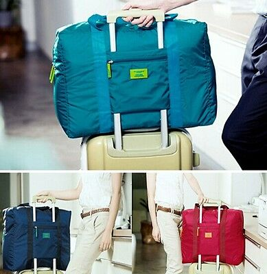 Portable Waterproof Travel Bag Clothes Organizer Pouch Storage Suitcase Luggage