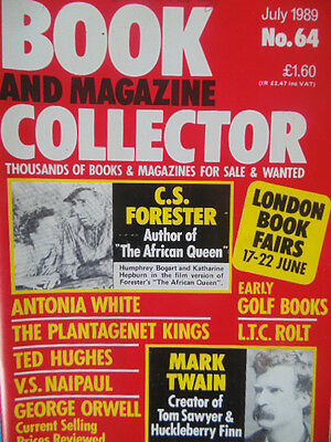 BOOK & MAGAZINE COLLECTOR  No 64 JULY 1989