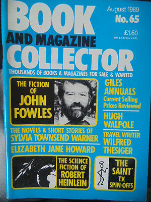 BOOK & MAGAZINE COLLECTOR  No 65 AUGUST 1989