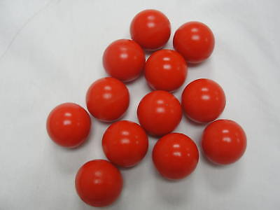"Urethane Valve Balls 1 1/4"" Diameter 90 Red Lot Of10"