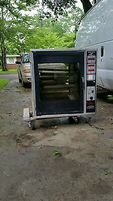 Henny Penny Scr-6 Rotisserie Countertop Convection Oven With Spits