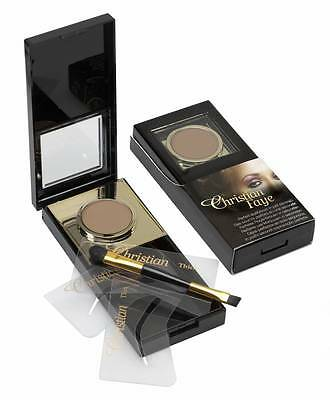 NEW IMPROVED Christian Faye Semi-permanent Eyebrow Make-up Kit (8 shades) single