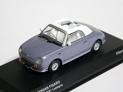 ## Nissan FIGARO 1/43 DieCast Model Opened Lapis Kyosho only 816 pc RARE NEW ##