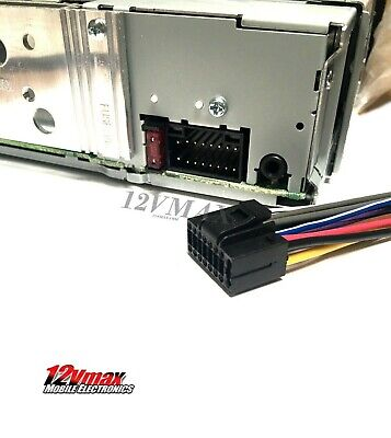 on kenwood dnx 992 wiring harness color codes