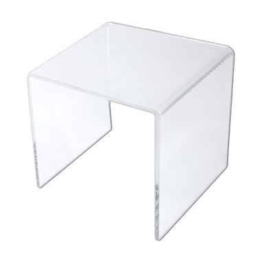 """Clear Acrylic Square Riser Display Stand 6 x 6 x 6"""""""