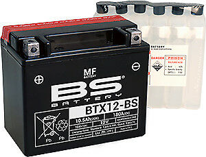 Bateria BS-BATTERY BTX12-BS sin mantenimiento