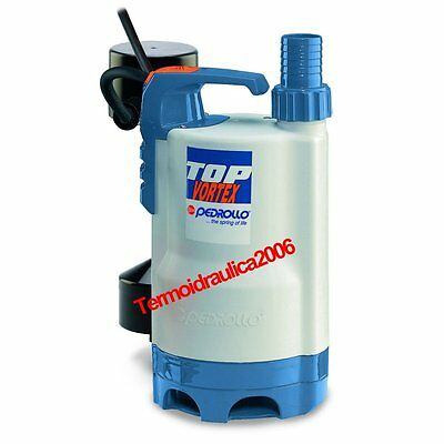 VORTEX Submersible Pump Dirty Water TOP2VORTEX GM 5M 0,5Hp 240V Pedrollo