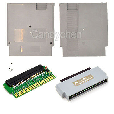 60 Pin To 72 Pin Adapter Converter For Nintendo NES Console System to Famicom FC