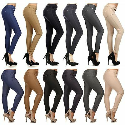 Women Fashion Slim Fit seamless Jeggings colors stretch pants size S to 3XL