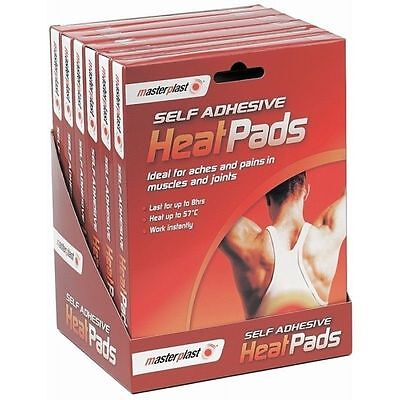 2 X Self Adhesive Heat Pads Pack Muscle Back Joint Pains Relief Instant