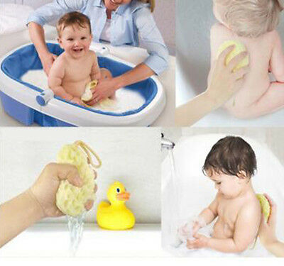 Baby Kids Bath Brushes Bath Sponge Baby Shower Convenient Product