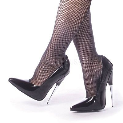 DEVIOUS SCREAM-01 Extravaganter High Heel mit Stielettoabsatz
