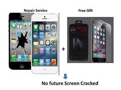 iPhone 6 cracked  screen repair service fast turnaround