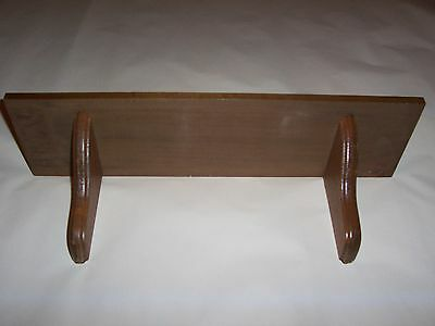 Simple Wooden Shelf Vintage Homco Home Interiors 17 1/2 x 4 x 4""