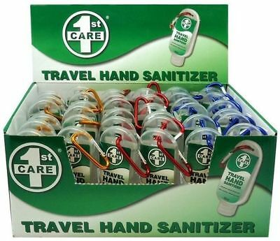 72x Travel Hand Sanitiser Sanitizer Anti Bacterial - NEW Bulk Wholesale Lot