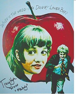 Tracy Hyde Signed Photo - MELODY - Starring Mark Lester & Jack Wild - RARE! G423