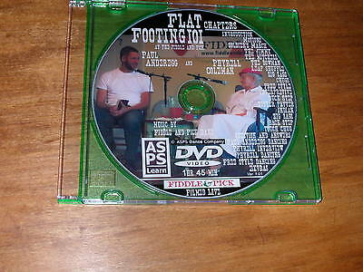 Flat-Footing 101 w/Paul Anderegg and Phyrell Coleman DVD