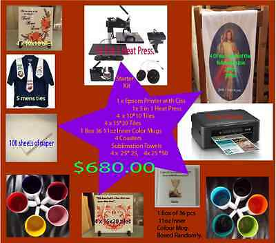 Sublimation Starter Pack, Sublimation Package
