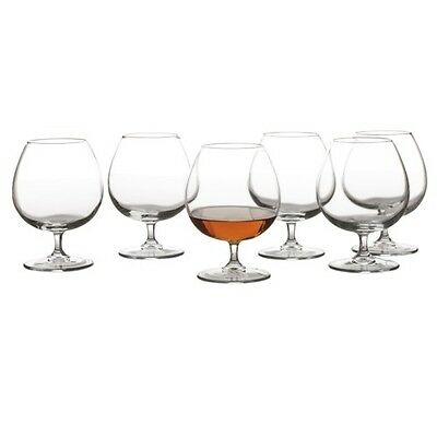 New Maxwell & Williams Cuvee Brandy Glass 540ml Set of 6 Gift Boxed