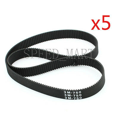 360-3M HTD Timing Belt 120 Teeth Cogged Rubber Geared Closed Loop 20mm Wide