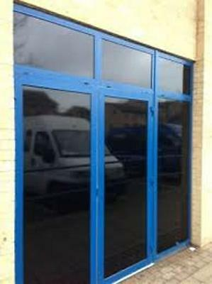 """36"""" X 50 Ft Roll Blackout Film Privacy For Offices,bath,glass Doors,storefronts"""