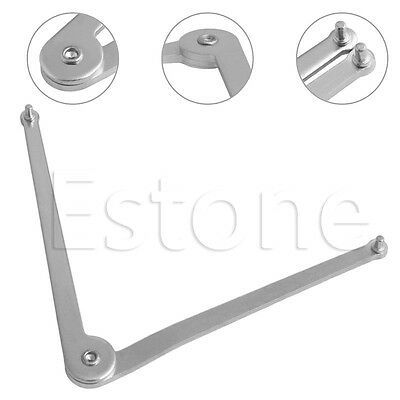 Adjustable Pin Wrench Spanner 3mm Dia For Angle Grinder Hubs Arbors Oower Tools