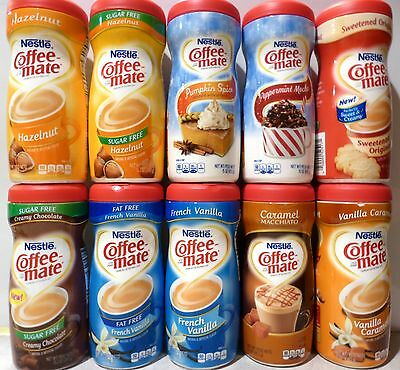 Nestle Coffee-Mate Coffee Creamer FLAVOR CHOICES PICK ONE