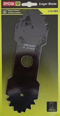 """Ryobi Expand-It Edger Blade Heavy Duty 9""""/22.9Cm. Suits Aed02/aed03/aed04"""