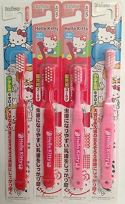 Hello Kitty : 4 Brosses à Dents Enfant / 4 Kid'sToothbrushes