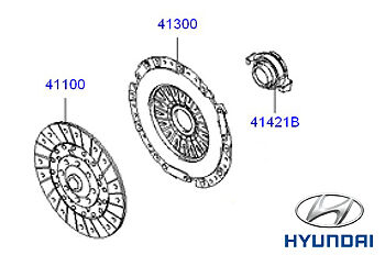 Genuine Hyundai Santa Fe Clutch Cover - 4130039150